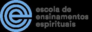Logotipo Escola de Ensinamentos Espirituais eee azul